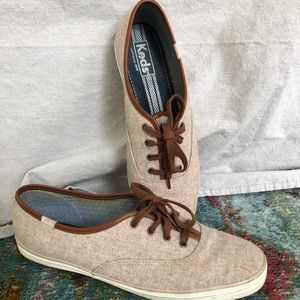 Wool-look Keds Champion sneakers